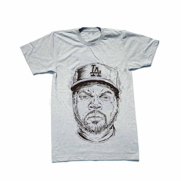 Ice Cube NWA Heather Grey Tee (Unisex) // T-shirt // Babes & Gents // www.babesngents.com
