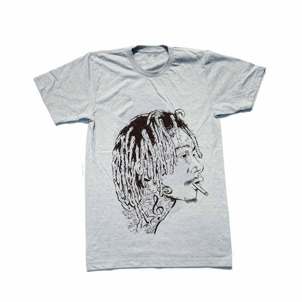 Wiz Khalifa Heather Grey Tee (Unisex) // T-shirt // Babes & Gents // www.babesngents.com