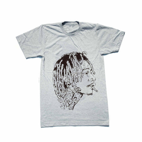 Wiz Khalifa Heather Grey Tee (Unisex)