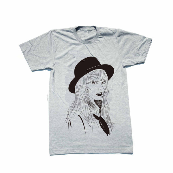 Taylor Swift Heather Grey Tee // T-shirt // Babes & Gents // www.babesngents.com