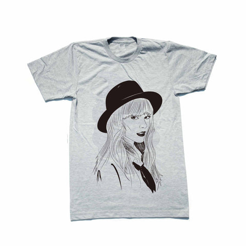 Taylor Swift Heather Grey Tee // 1989 Shake it off unique artsy