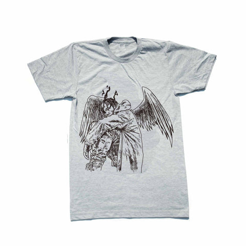 Travis Scott Birds in the Trap Sing McKnight Heather Grey Tee (Unisex)