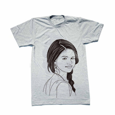 Selena Gomez Revival Heather Grey Tee (Unisex)