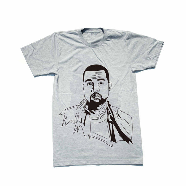 Kanye West Yeezy Heather Grey Tee // T-shirt // Babes & Gents // www.babesngents.com