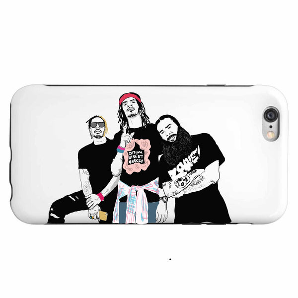 Flatbush Zombies Apple IPhone 4 5 5s 6 6s Plus Galaxy Case // Babes & Gents // www.babesngents.com