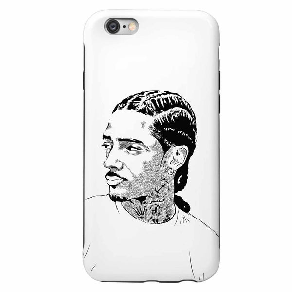 Nipsey Hussle Apple IPhone 4 5 5s 6 6s Plus Galaxy Case Apple IPhone 4 5 5s 6 6s Plus Galaxy Case  // Babes & Gents // www.babesngents.com