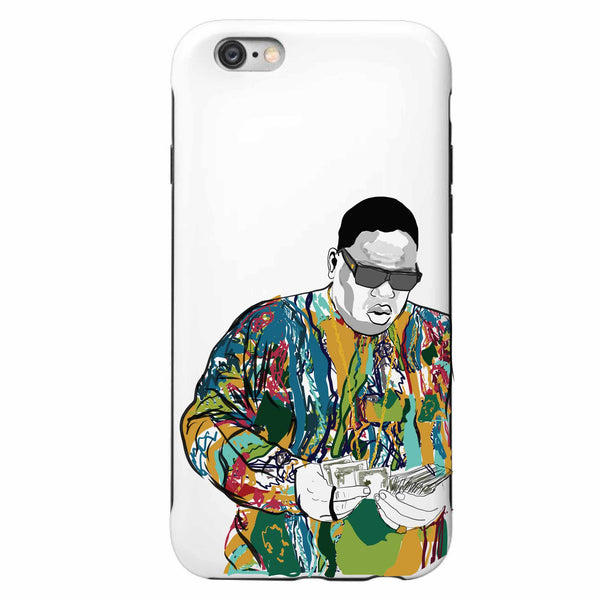 The Notorious B.I.G. Biggie smalls Coogie Sweater Apple IPhone 4 5 5s 6 6s Plus Galaxy Case // Babes & Gents // www.babesngents.com
