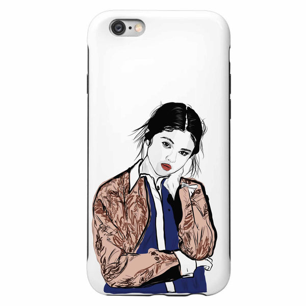 Selena Gomez Apple IPhone 4 5 5s 6 6s Plus Galaxy Case // Babes & Gents // www.babesngents.com