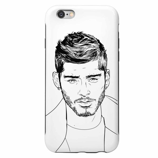 Zayn Malik Apple IPhone 4 5 5s 6 6s Plus Galaxy Case Apple IPhone 4 5 5s 6 6s Plus Galaxy Case  // Babes & Gents // www.babesngents.com