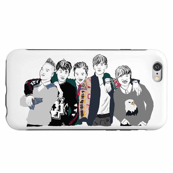 Big Bang Apple IPhone 4 5 5s 6 6s Plus Galaxy Case // Babes & Gents // www.babesngents.com