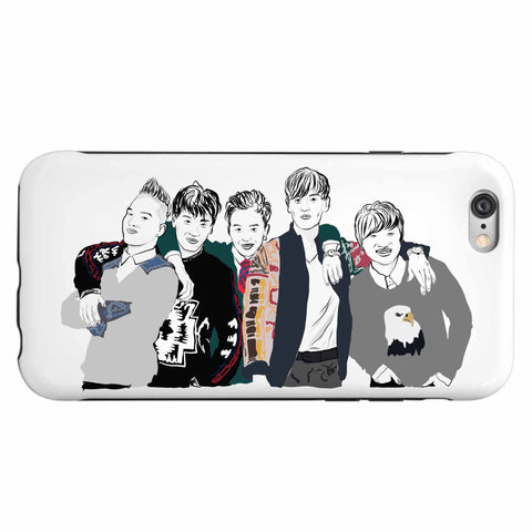 Big Bang Apple IPhone 4 5 5s 6 6s Plus Galaxy Case