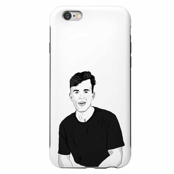 Jake Paul Apple IPhone Case  // Babes & Gents // www.babesngents.com