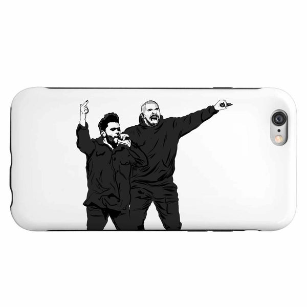 The Weeknd and Drake Apple IPhone 4 5 5s 6 6s Plus Galaxy Case // Babes & Gents // www.babesngents.com