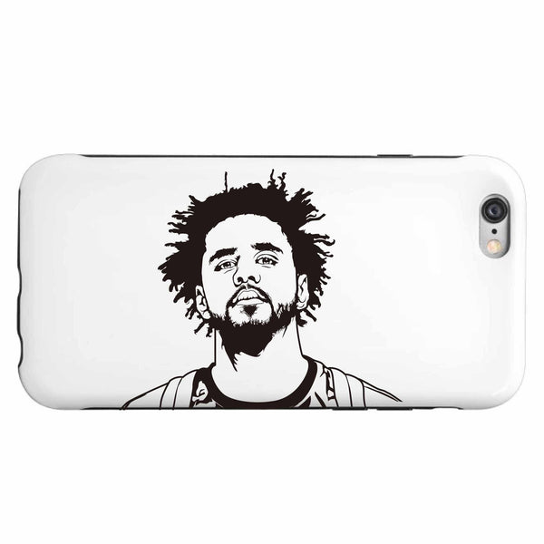 J. Cole Apple IPhone 4 5 5s 6 6s Plus Galaxy Case // Jcole dreamville coleworld // Babes & Gents // www.babesngents.com