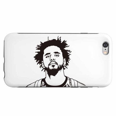 J. Cole Apple IPhone 4 5 5s 6 6s Plus Galaxy Case // Jcole dreamville coleworld