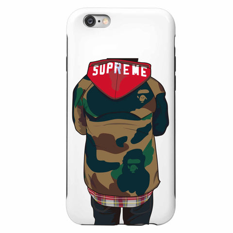 Supreme Bape Apple IPhone 4 5 5s 6 6s Plus Galaxy Case