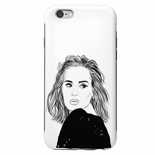 Adele Apple IPhone 4 5 5s 6 6s Plus Galaxy Case  // Babes & Gents // www.babesngents.com