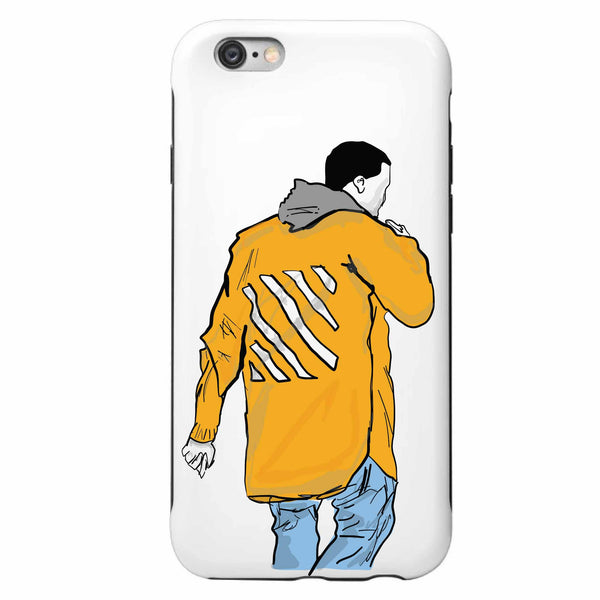 Kanye West Yeezy in Off White Apple IPhone 4 5 5s 6 6s Plus Galaxy Case // Babes & Gents // www.babesngents.com