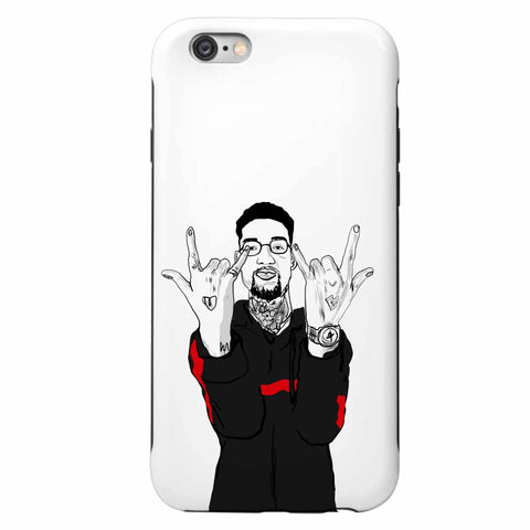 Pnb Rock Apple IPhone Case