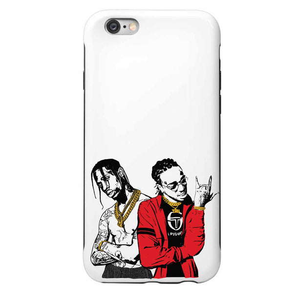 Huncho Jack Quavo and Travis Scott Apple IPhone Case  // Babes & Gents // www.babesngents.com