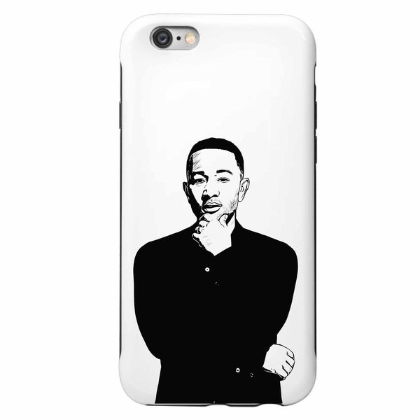 John Legend Apple IPhone 4 5 5s 6 6s Plus Galaxy Case // Babes & Gents // www.babesngents.com