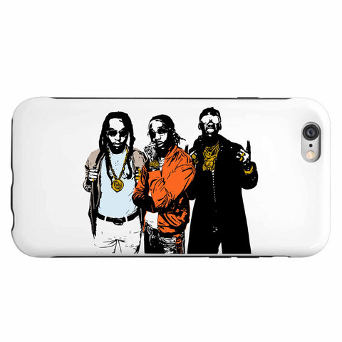 Migos 2 Apple IPhone 4 5 5s 6 6s Plus Case