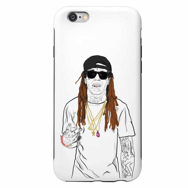 Lil Wayne Tunchi Apple IPhone 4 5 5s 6 6s Plus Galaxy Case // Babes & Gents // www.babesngents.com