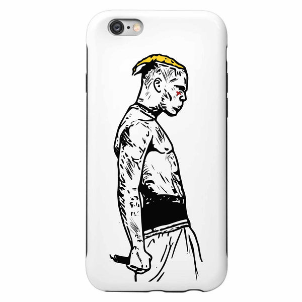XXXtentacion Sad Apple IPhone Case  // Babes & Gents // www.babesngents.com