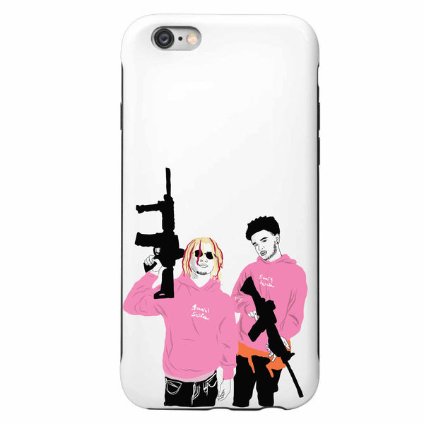 Lil Pump + Smokepurpp Apple IPhone 4 5 5s 6 6s Plus Galaxy Case // Babes & Gents // www.babesngents.com