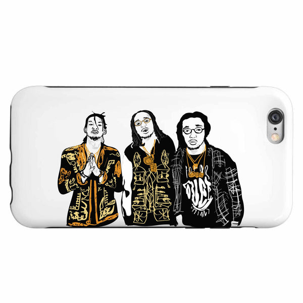 Migos Quavo Offset Takeoff Apple IPhone 4 5 5s 6 6s Plus Galaxy Case // Babes & Gents // www.babesngents.com