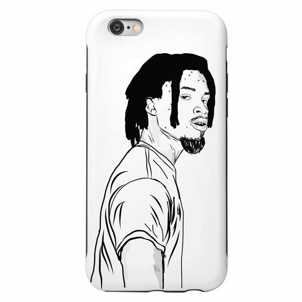 Denzel Curry Apple IPhone 4 5 5s 6 6s Plus Galaxy Case // Babes & Gents // www.babesngents.com