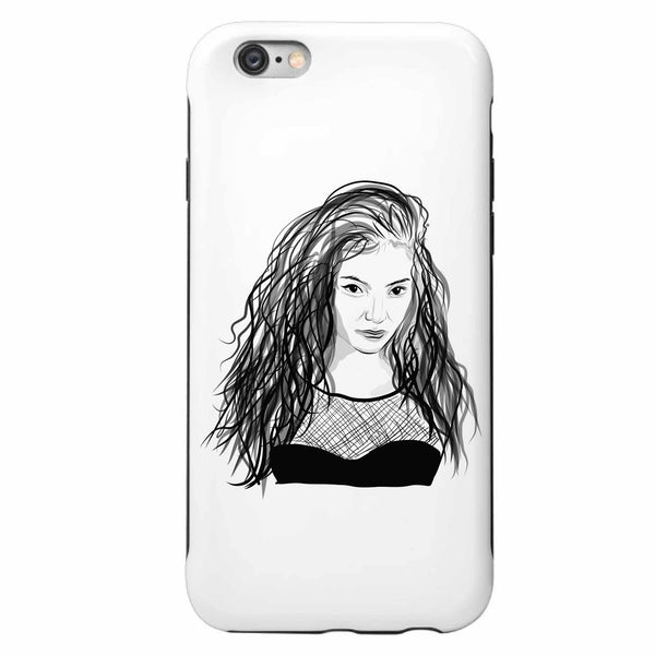 Lorde Apple IPhone 4 5 5s 6 6s Plus Galaxy Case // Babes & Gents // www.babesngents.com
