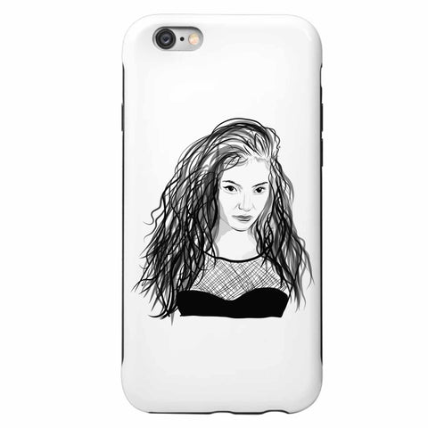 Lorde Apple IPhone 4 5 5s 6 6s Plus Galaxy Case