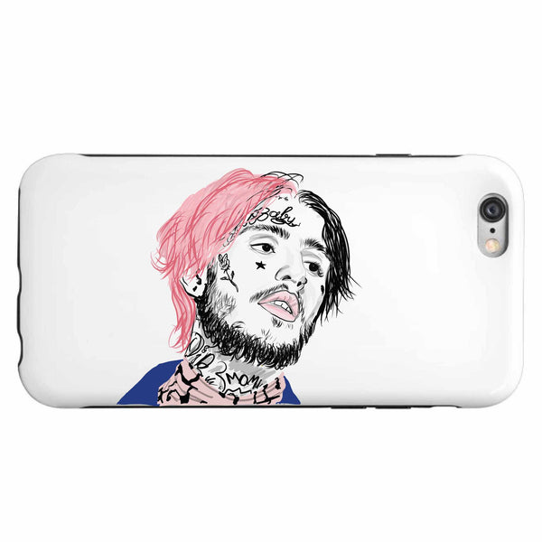 Lil Peep Apple IPhone 4 5 5s 6 6s Plus Galaxy Case // Babes & Gents // www.babesngents.com