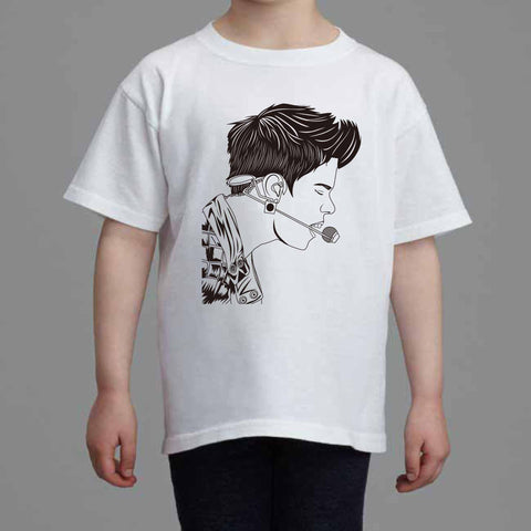 Justin Bieber Kids White Tee (Unisex) // Purpose what do u mean jb
