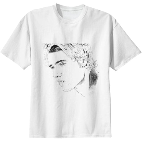 Justin Bieber White Tee (Unisex) // Purpose what do u mean sorry