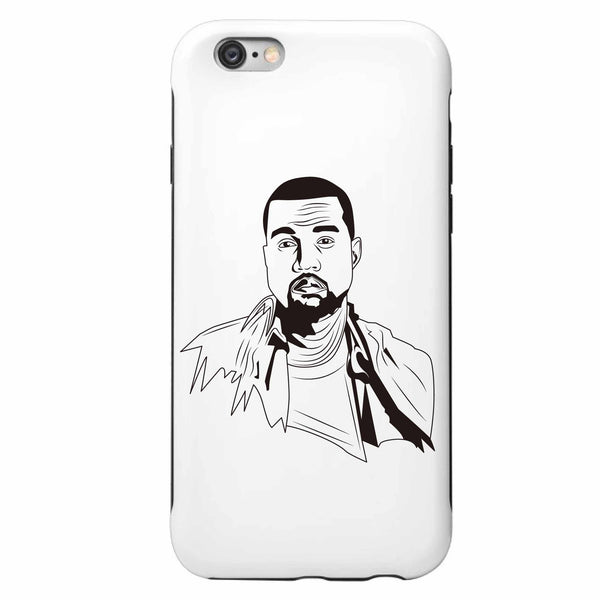 Kanye West Yeezy Apple IPhone 4 5 5s 6 6s Plus Galaxy Case // swish yeezus tour allday // Babes & Gents // www.babesngents.com