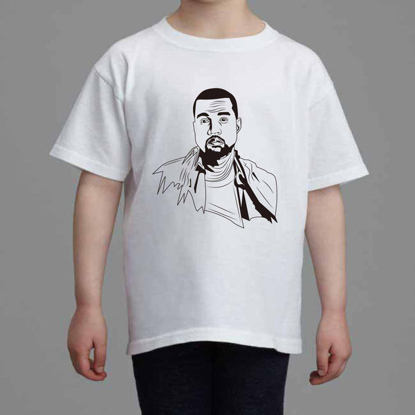 Kanye West Yeezy Kids White Tee (Unisex) // swish yeezus tour allday // Babes & Gents // www.babesngents.com