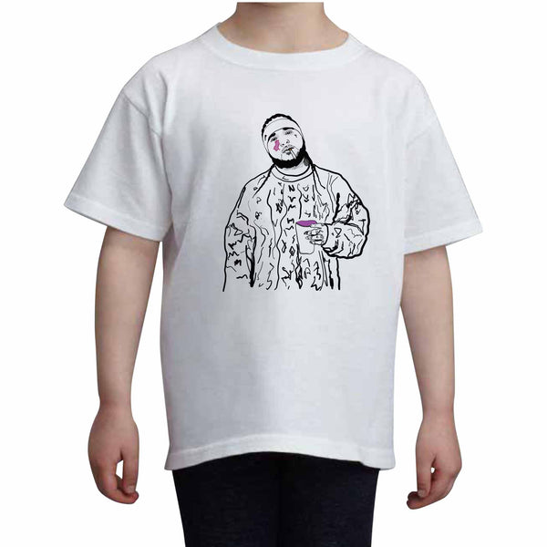 ASAP Yams A$AP Mob Kids White Tee (Unisex) // Babes & Gents // www.babesngents.com