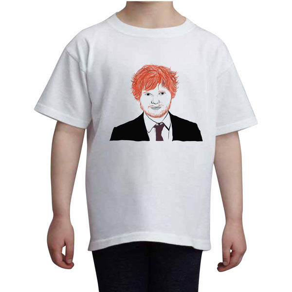 Ed Sheeran Kids White Tee (Unisex) // Babes & Gents // www.babesngents.com