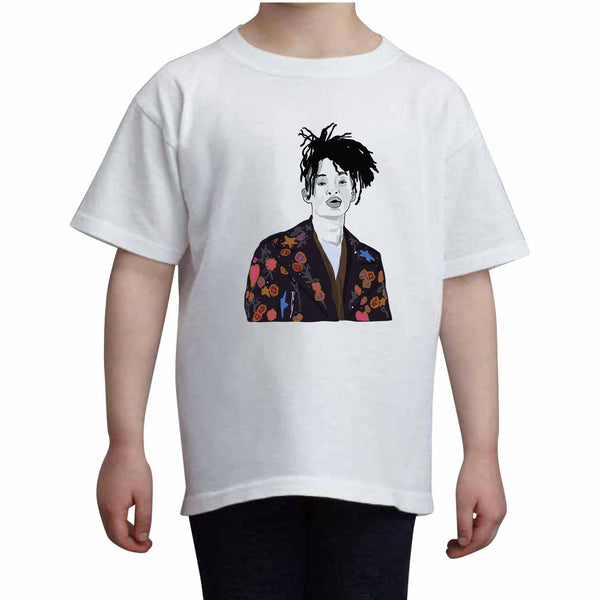 Jaden Smith Kids White Tee (Unisex) // Babes & Gents // www.babesngents.com