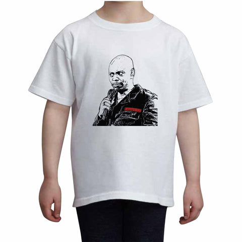 Dave Chappelle Kids White+Grey Tee (Unisex)