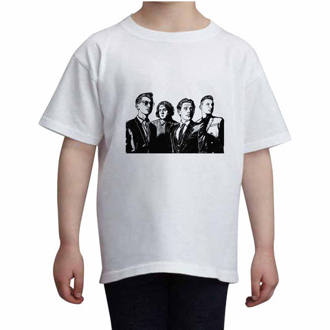 Arctic Monkeys Kids White+Grey Tee (Unisex)