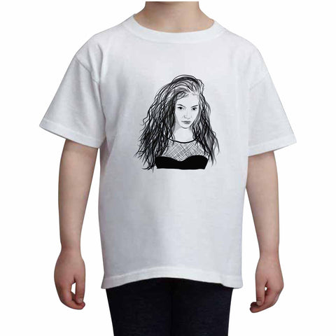 Lorde Kids White Tee (Unisex)