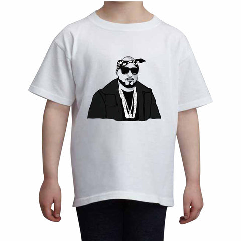 Young Jeezyi Kids White Tee (Unisex)