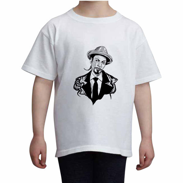 Snoop Dogg Kids White Tee (Unisex) // Babes & Gents // www.babesngents.com