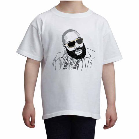 Rick Ross Kids White Tee (Unisex)