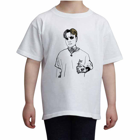 BEXEY Kids White+Grey Tee (Unisex)