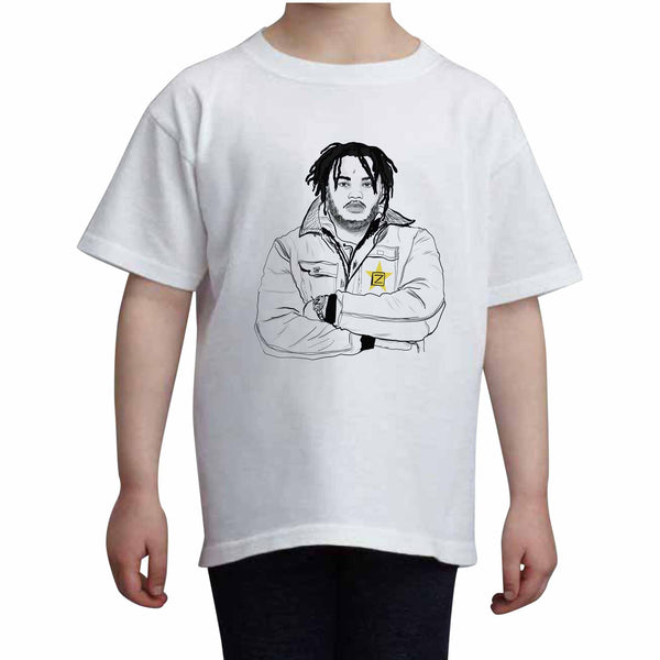 Tee Grizzley Kids White Tee (Unisex) // Babes & Gents // www.babesngents.com