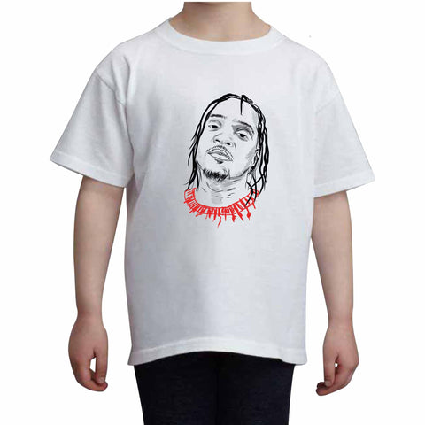 Pusha T Kids White Tee (Unisex)